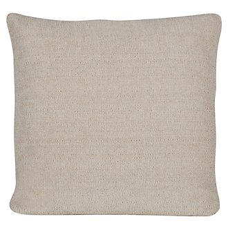 Belair Lt Taupe Microfiber Square Accent Pillow
