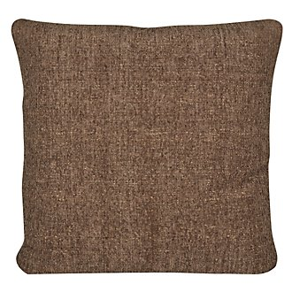 Belair Dk Brown Microfiber Square Accent Pillow