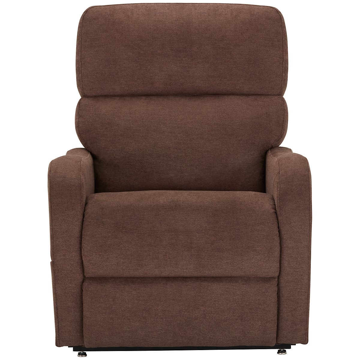 City Furniture Nora Brown Fabric Power Lift Recliner