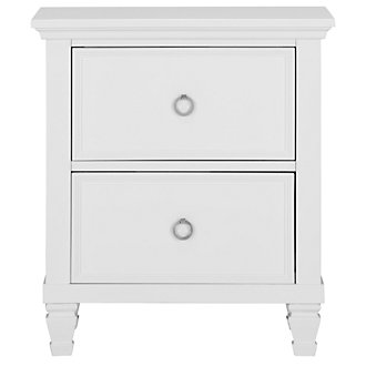 Tamara White Nightstand