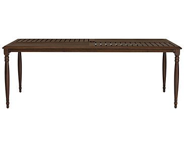 Tradewinds Dark Tone Rectangular Table