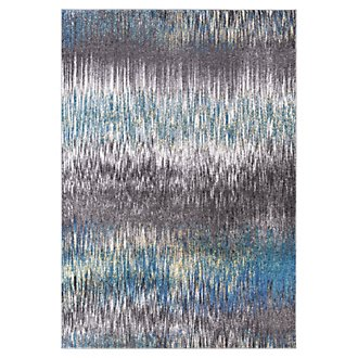 Unique Multicolored 5X8 Area Rug