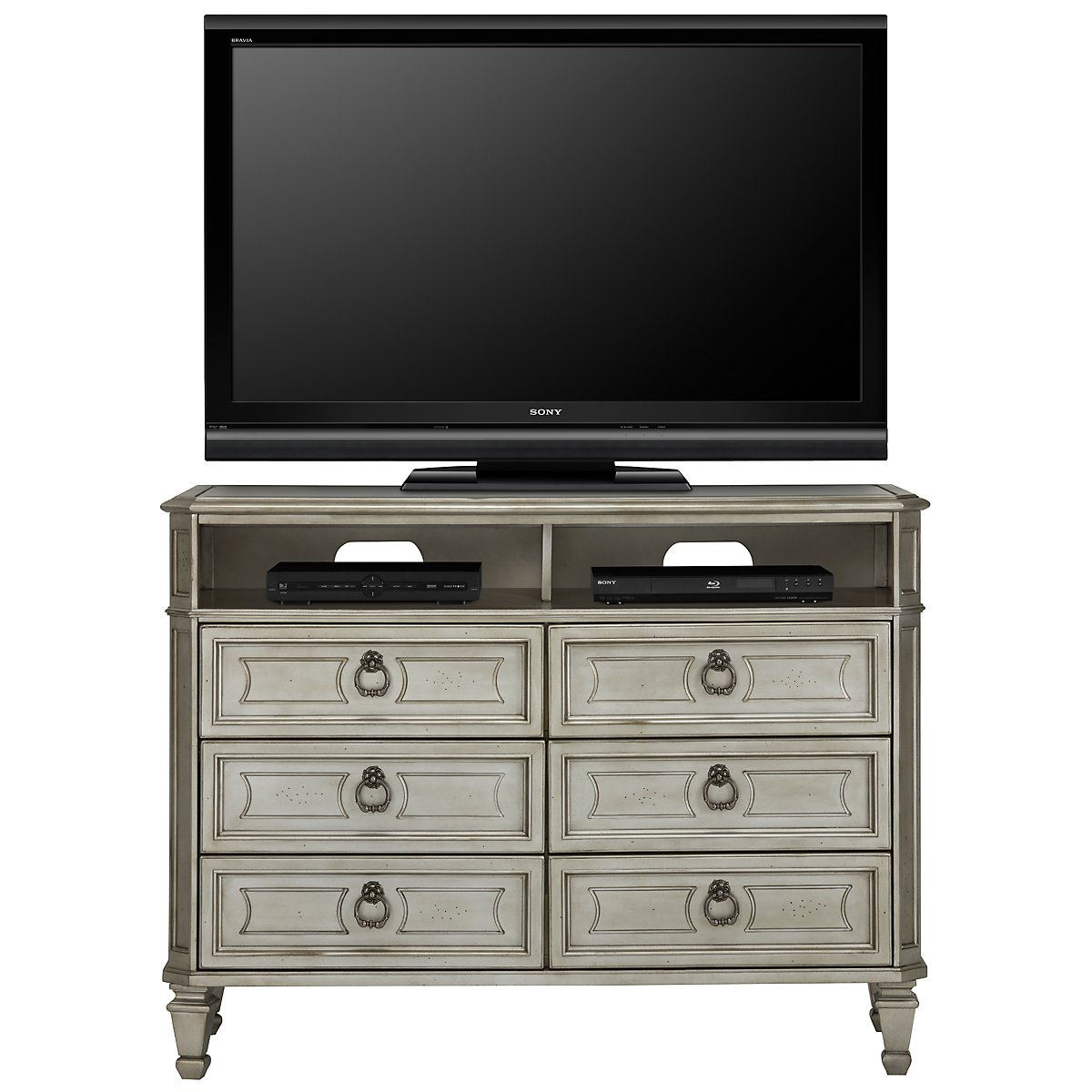 Sloane Silver Media Chest. City Furniture   Bedroom Furniture   Media Chests  Armoires