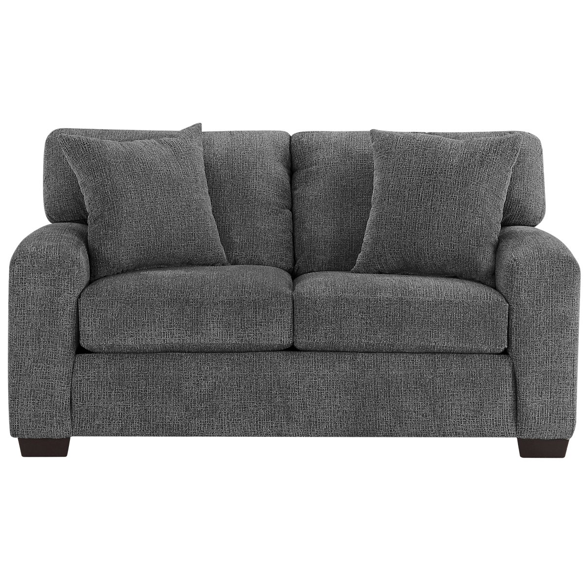 Microfiber Living Room Chairs City Furniture Adam Dark Gray Microfiber Living Room