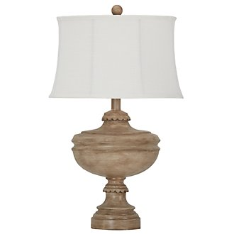 Aiden Lt Taupe Table Lamp