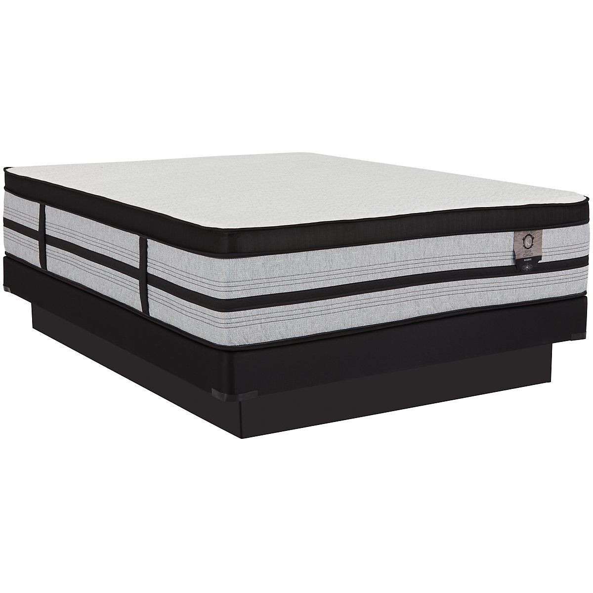 Sensation Cushion Firm Hybrid Low-Profile Mattress Set