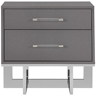 Cortina Gray Nightstand