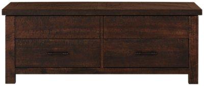 Image Of Jax Dark Tone Wood Lift Coffee Table With Sku:1280772