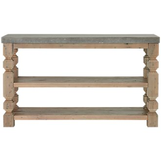 Obrian Wood Sofa Table