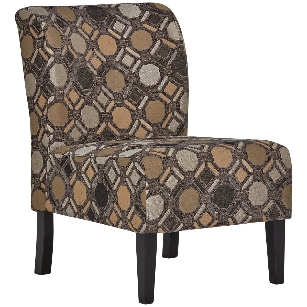 City Furniture: Laryn Multicolored Microfiber Accent Chair