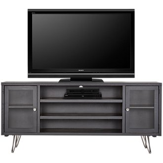 "Studio Black 74"" TV Stand"
