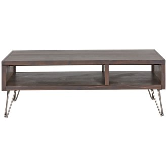 Studio Dark Tone Square Coffee Table