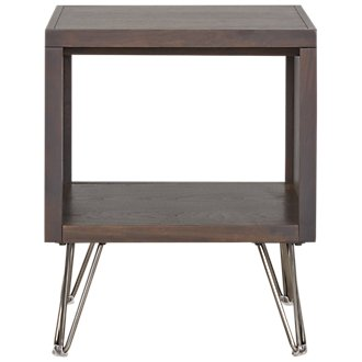 Studio Dark Tone Square End Table