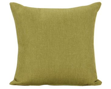 Suri Green Square Accent Pillow