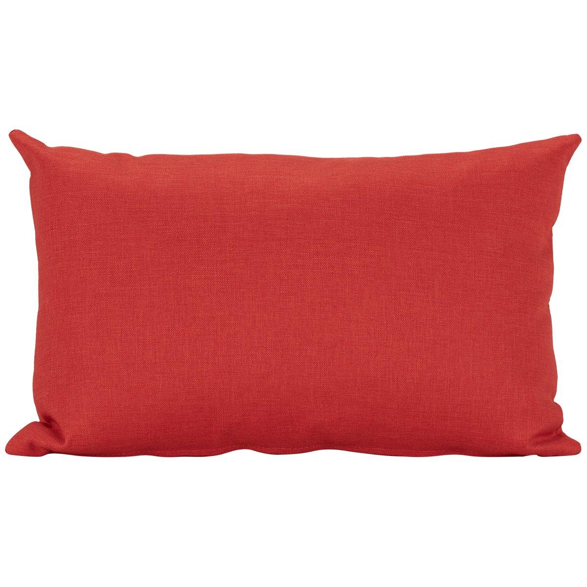 City Furniture: Callie Orange Rectangular Accent Pillow