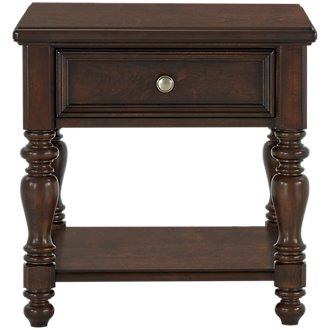 Savannah Dark Tone End Table