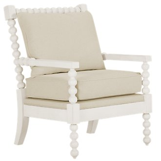 Savannah Ivory Accent Chair