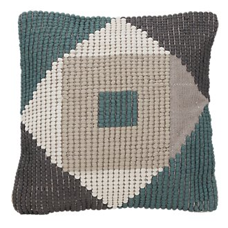 Bahar Teal Indoor/Outdoor Accent Pillow
