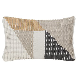 Calista Yellow Indoor/Outdoor Rectangular Accent Pillow