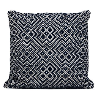 Finley Dark Blue Indoor/Outdoor Accent Pillow