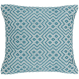 Finley Teal Indoor/Outdoor Accent Pillow