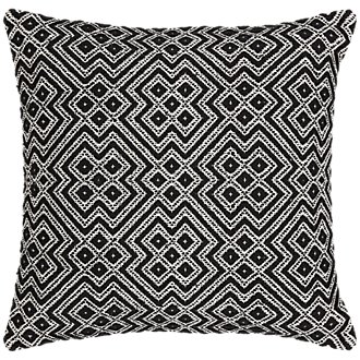 Finley Black Indoor/Outdoor Accent Pillow