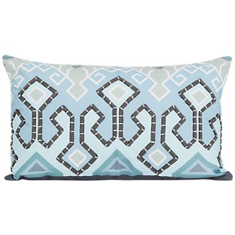 Karina Multicolored Indoor/Outdoor Rectangular Accent Pillow
