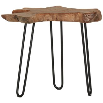 Teak Root Small Accent Table