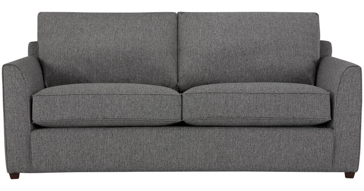 City Furniture Asheville Gray Fabric Sofa