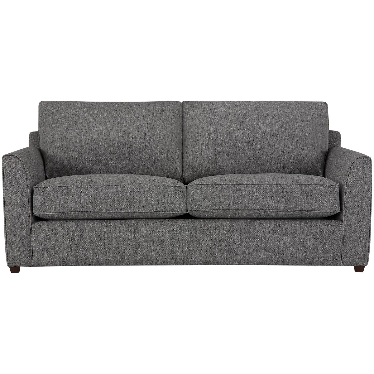 City Furniture Asheville Gray Fabric Sofa