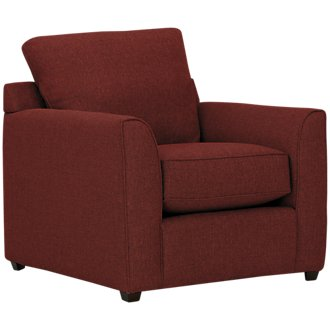 Asheville Red Fabric Chair