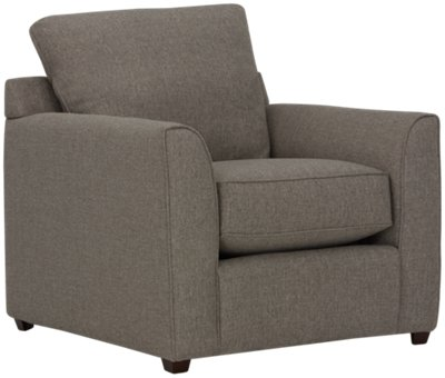 City Furniture Asheville Brown Fabric Chair