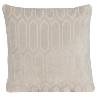 Arkdale Gray Fabric Square Accent Pillow