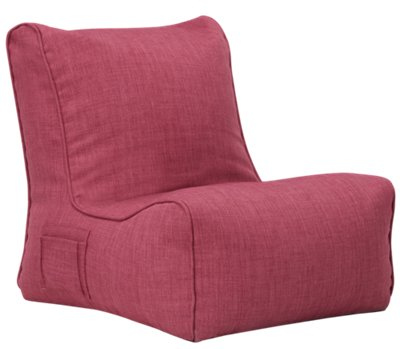 Alesia Pink Armless Chair Alesia Pink Armless Chair