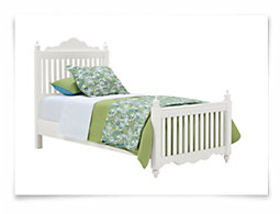 Lauren White Poster Bed