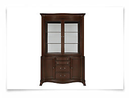 Avalon Dark Tone China Cabinet