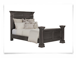 Emerson Gray Panel Bed