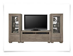 Adele2 Light Tone Entertainment Wall