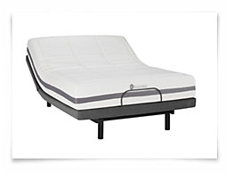 Kevin Charles Dreamer2 Plush Memory Foam Select Adjustable Mattress Set