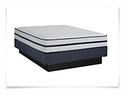 Kevin Charles Courtland Luxury Firm Innerspring Mattress Set
