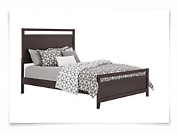 Chatham Dark Tone Panel Bed