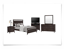 Chatham Dark Tone Panel Bedroom Package