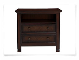 Isle Dark Tone Nightstand