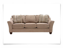 Grant2 Lt Brown Microfiber Sofa
