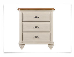 Ocean Isle Two-Tone Nightstand