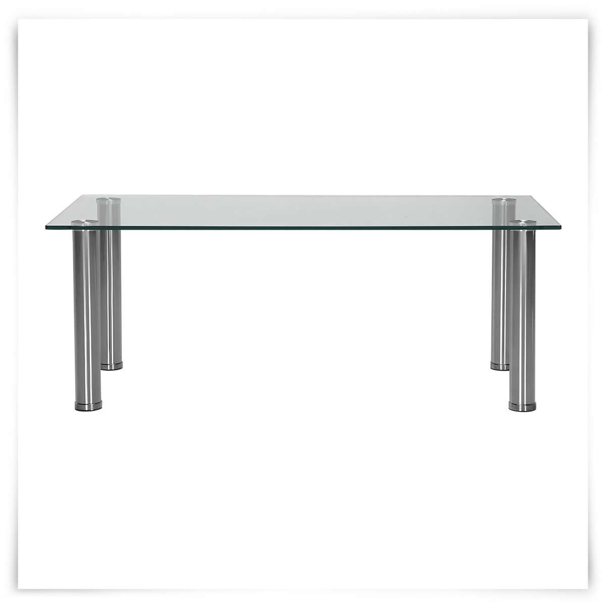 Napoli Glass Rect Coffee Table