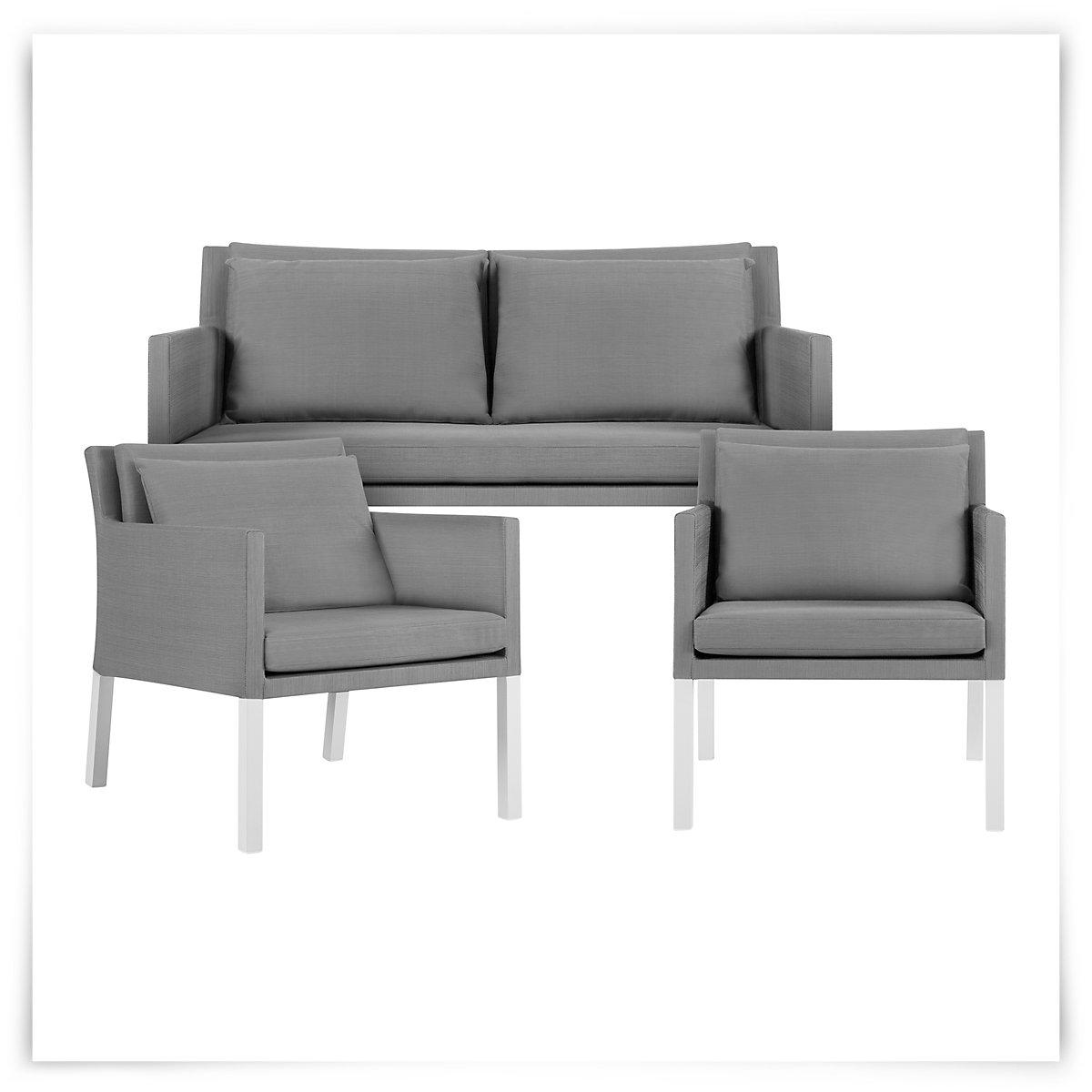 City Furniture Lisbon Gray Outdoor Living Room Set