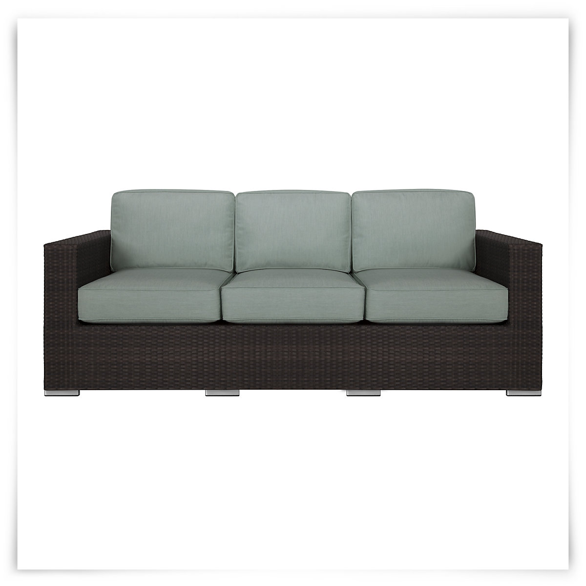 City Furniture Fina Teal Sofa