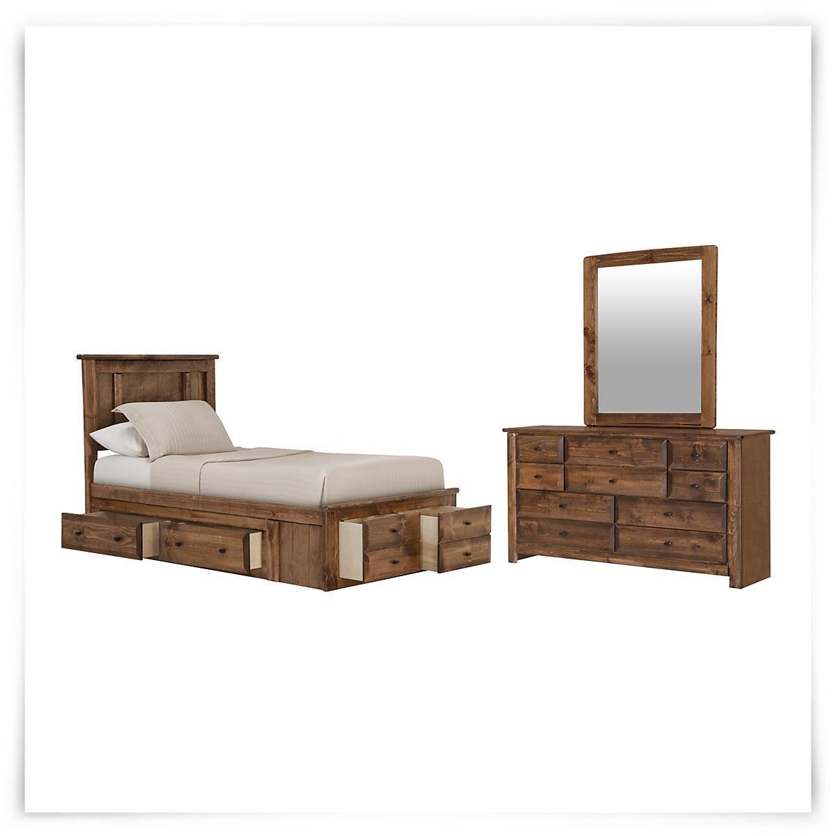 city furniture laguna dark tone platform storage bedroom