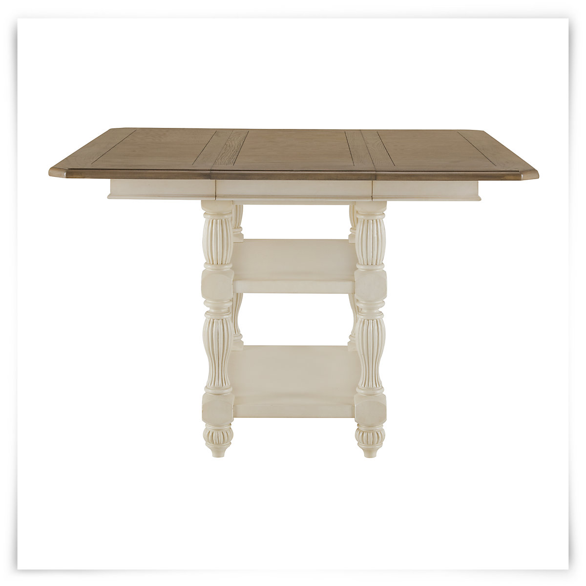 City Furniture Coventry Two Tone High Dining Table